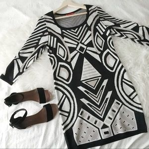 Art Deco Sweater Dress